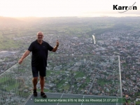 2017 07 31 Dornbirn Blick vom Karren auf Dornbirn