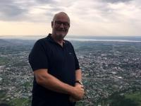 Blick aus über 970 Meter Seehöhe