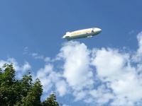 Der erste Zeppelin am Bodensee