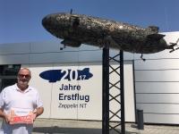 2017 08 01 Erste Zeppelinfahrt Friedrichshafen am Bodensee Reisewelt on Tour