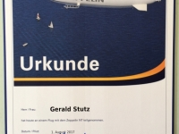 2017 08 01 Erste Zeppelinfahrt Friedrichshafen am Bodensee Urkunde