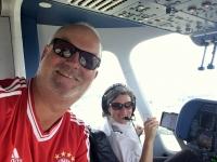2017 08 01 Zeppelinfahrt Friedrichshafen am Bodensee mit Pilotin