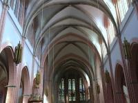 Bregenz Pfarrkiche Herz Jesu innen