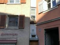 Bregenz schmalste Haus Europas mit 57 cm