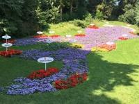 Bodensee als Blumengesteck