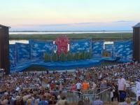 Bühnenbild für die Operette Der Vogelhändler