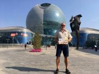 2017 08 27 Astana EXPO größte selbsttragende Kugel der Welt ASVOÖ