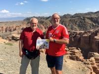 2017 08 30 Kasachstan Charyn Canyon von oben ASVOÖ unter sich