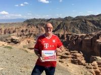 2017 08 30 Kasachstan Charyn Canyon von oben Reisewelt on Tour