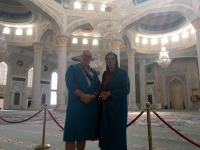 2017 08 26 Astana Khazret Sultan Moschee innen