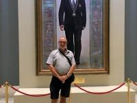 2017 08 26 Astana Nationalmuseum mit Präsidenten