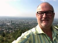 2017 08 29 Almaty Blick vom Aussichtsberg Kok Tobe