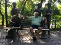 2017 08 29 Almaty Kok Tobe Beatles Denkmal