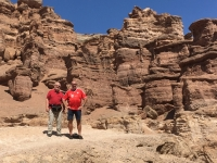 2017 08 30 Charyn Canyon mit Josef
