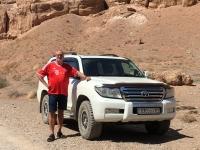 2017 08 30 Charyn Canyon mit unserem Jeep
