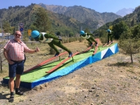 2017 08 31 Almaty Medeo Skispringer