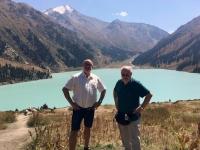 2017 09 01 Almaty Großer Alamatiner See mit Josef