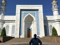2017 09 02 Almaty Große Moschee Aussen