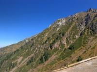 2017 08 31 Almaty Blick vom Shymbulak Resort in 2831 m Seehöhe