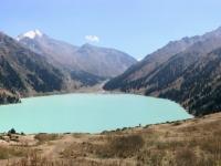2017 09 01 Almaty Beim großen Almatiner See