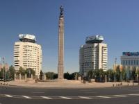2017 09 01 Almaty mit Platz der Republik