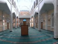 2017 09 02 Almaty Große Moschee Vorhalle