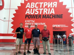 2017 08 27 Astana EXPO Österreich Pavillon Gruppenfoto
