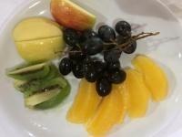 Dessert Obstteller