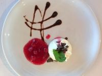 Dessert Panna Cotta aus Vanillebohnen