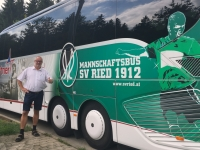 2017 08 09 Anreise mit dem Mannschaftsbus des SV Ried