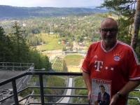 2017 09 10 Zakopana Skisprungschanze oben FC Bayern München