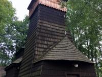 Polen Powroznik Holzkirchen in den Nordkapaten Kopfbild
