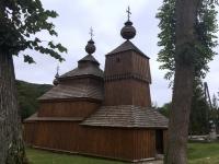 Slowakei Bodruzal Holzkirchen in den Karpaten Kopfbild