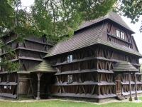Slowakei Hronsek Holzkirchen in den Karpaten Kopfbild