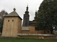Slowakei Ladomirova Holzkirchen in den Karpaten Kopfbild