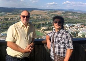 2017 09 09 Trencin Blick von Burg