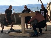 2017 09 09 Trencin Gewichtheberbewerb auf der Burg