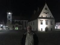 2017 09 11 Bardejov Hauptplatz bei Nacht