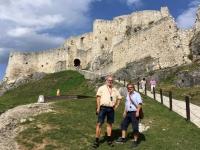 2017 09 11 Zipser Burg vor der Besteigung