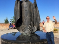 2017 09 14 Nitra Oberstadt mit Papst Denkmal