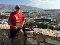 2017 10 04 Akropolis Blick auf Athen FC Bayern