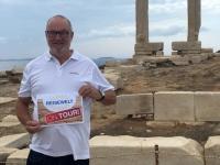 2017 10 06 Naxos Apollo Tempel Reisewelt on Tour