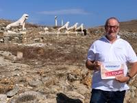 2017 10 07 Delos Unesco Ausgrabungen Reisewelt on Tour