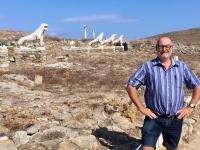 Griechenland Insel Delos Löwen