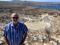 Griechenland Insel Delos Theater