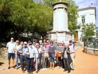 2017 10 04 Athen Altstadt Plaka Gruppenfoto