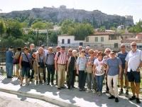 2017 10 04 Athen Blick auf die Akropolis Gruppenfoto