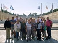 2017 10 04 Athen Panathinaiko Stadion Gruppenfoto