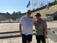 2017 10 04 Athen Panathinaiko Stadion mit RL Jannis