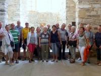 2017 10 05 Paros Kirche Ekatontapyliani Gruppenfoto